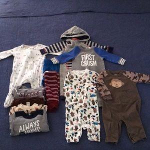 11 Item Infant Bundle- Size 3-6m